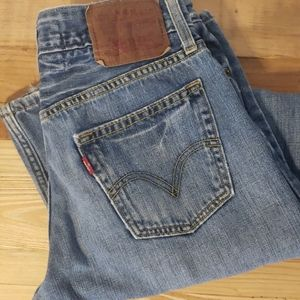 Levi's the original jeans low boot cut 527 jeans